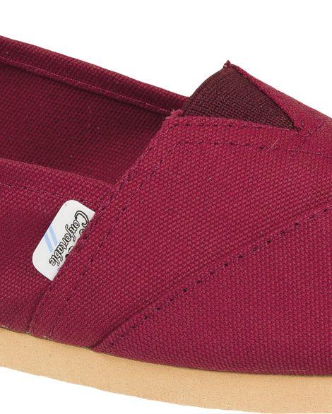 Alpargatas reforzadas bordo - Confortable SRL