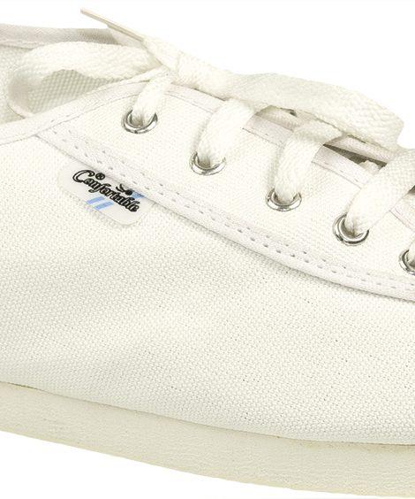 Alpargatas bocheras blancas - Confortable SRL