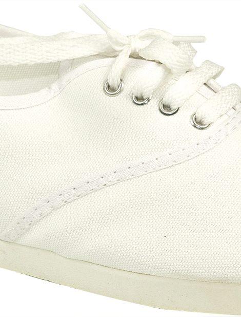 Alpargatas con cordones blancas - Confortable SRL