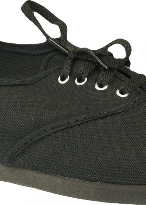 Alpargatas con cordones negras
