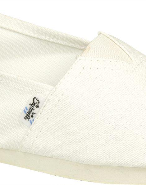 Alpargatas blancas con elástico - Confortable SRL