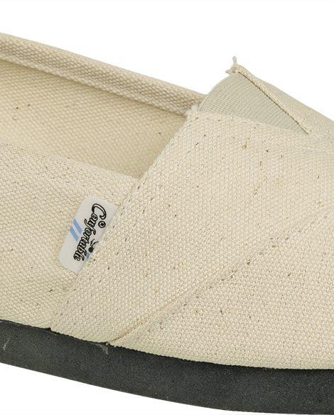 Alpargatas reforzadas crudo - Confortable SRL