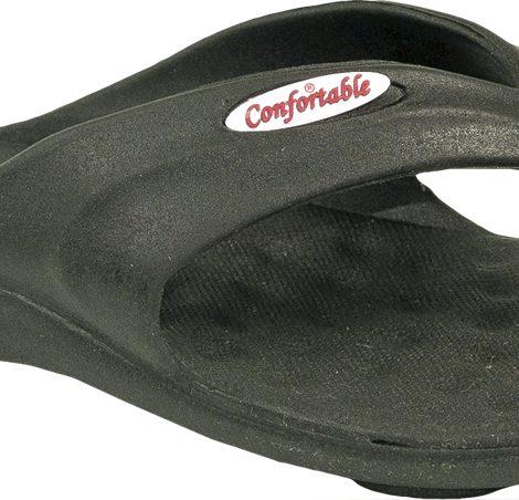 Ojotas beach negras - Confortable SRL